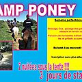 stage equitation vacances 2015 !!!