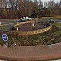 Rond-point à Mallemort-sur-<b>Corrèze</b>