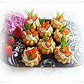 Gâteaux amandes aux fraises et chantilly empreintes demarle st honoré........