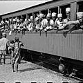 Des soldats camerounais allant libérer paris en 1941
