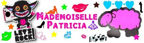 Mes créations Mademoiselle Patricia