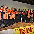 Saint gence : réussite pour les journées du téléthon 2013