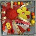 Boheme, art square 10X10 cm, mars 2009