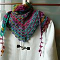 South bay Shawlette (laine Sophie Gelfi)