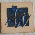 carreau motif fleurs sauvages : non disponible