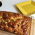 Cake au fromage de chèvre et aux courgettes