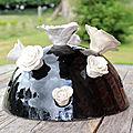 Demi-sphère florale ~ centre de table