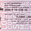 Queens of the Stone Age - Mercredi 9 Mai 2007 - <b>Elysée</b> Montmartre (Paris)
