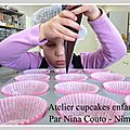 <b>Atelier</b> <b>cupcakes</b> <b>enfants</b> à Nîmes ... les photos