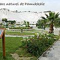 Parc naturel de Pamukkale