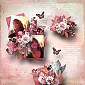 Roses for an Angel - Kit by Ilonkas Scrapbook Designs