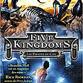 Five kingdoms, tome 1, les pirates du ciel, de brandon mull
