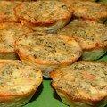 Bouchees de saumon fume aux poireaux