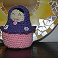 <b>Matrioshka</b> au crochet