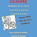 Nouvelle section de cyclotourisme à jouarre