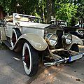 ROLLS ROYCE Phantom I cabriolet Stratford von Brewster 1927 Baden Baden (1)