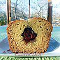 Kkvkvk # 49 : cake au levain, miel & figues confites