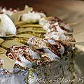 Gâteau de fête au chocolat blanc, pistache et citron