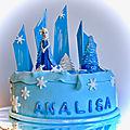 Un gâteau d'anniversaire pour une petite princesse....
