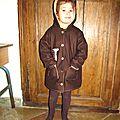 Photos prises en intérieur du manteau girafe sur mon zèbre...