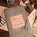 SEWING THEME: Laura's Sewing Book + tuto for the copybook cover US $ 8.00