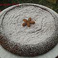Gâteau au chocolat et aux amandes à l'huile d'olive