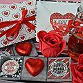 Pour mon amour, mon cœur (coffret gourmand pour la saint valentin)