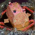 Bûche de Noël.... so girly (bûche à la crème et fruits rouges) par Karine100705