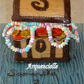 Coffre de pirates croc'3d kit gâteau
