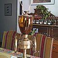 moulin à <b>café</b> <b>anglais</b> lampe, il est remonté, il attend son abat jour...