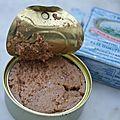 Le placard magique : petites pâtes croates au pâté d'oeufs de merlan portugais