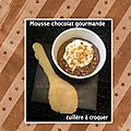 Mousse au chocolat cuillère à croquer : dessert simple & gourmand !