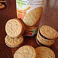 Délicieux biscuits à l'épeautre