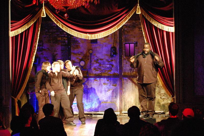 Quintet d'impro du 30 novembre 2008