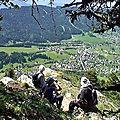 Belvédère de Roche Rousse 1570m - Col de Porte – <b>Chartreuse</b>