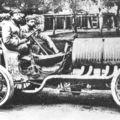 1906 gp de l'acf, le mans - hubert le blon (hotchkiss hh) dnf 4 laps wheel 1