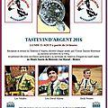 Feria de béziers - remise du tastevin d'argent par l'union taurine biterroise