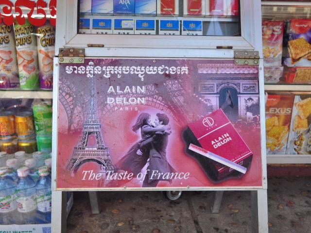 Alain Delon s'exporte bien aussi