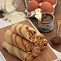 CREPES TOURBILLON A LA <b>CREME</b> DE <b>MARRONS</b>