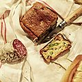 Cake asperges et girolles
