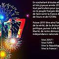 Bonne année 2017 à toutes et à tous !