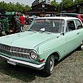 Opel rekord a 1700 2 portes, 1963