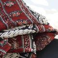 Voile de coton indien, Métro couronnes Paris