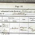 Mellish James Thomas Henry_acte baptême 30.9.1835