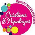 Créations & papotages ~ créativa nantes (invitations à gagner)