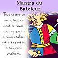 Magazine du tarot, carte du <b>Bateleur</b>, par Vincent Beckers