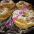 Paris-brest alleges aux blancs d'oeufs