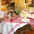 17/04/17 : tables de fête