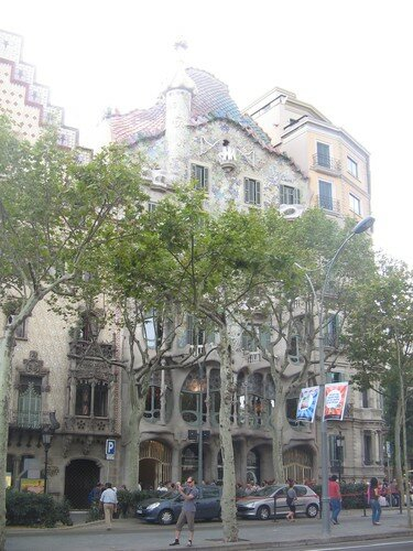 casa Battlo de Gaudi
