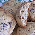 Cookies poire/chocolat pour le goûter du dimanche !